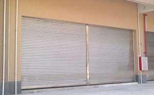 铝合金卷帘门 - 铝合金卷帘门4 - 上海中出网-城市出入口设备门户