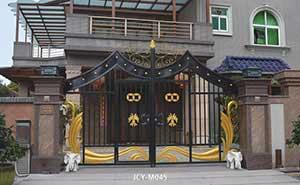铁艺大门 - 铁艺大门 - 天津中出网-城市出入口设备门户