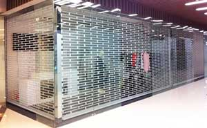 水晶卷帘门 - 水晶卷帘门4 - 天津中出网-城市出入口设备门户