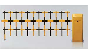 栅栏道闸 - TL-260双层栏栅道闸 - 重庆中出网-城市出入口设备门户