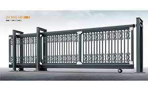 直线平移门 - 直趟门1368-C[灰色] - 南京中出网-城市出入口设备门户