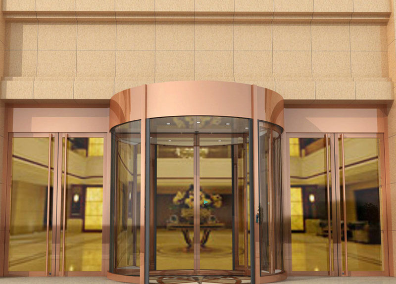 旋转门 - KA270自动旋转门 - 南京中出网-城市出入口设备门户