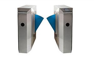 翼闸 - 豪华型八角翼闸 - 青岛中出网-城市出入口设备门户