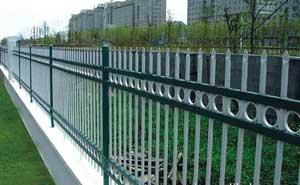 鋅钢护栏 - 锌钢围墙护栏 - 青岛中出网-城市出入口设备门户