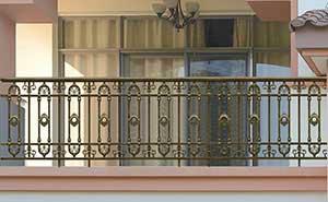铝艺护栏 - 护栏FGL-H6007 - 青岛中出网-城市出入口设备门户