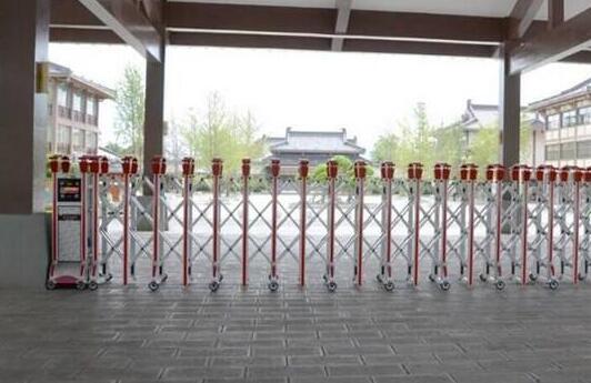 宁波国家高新区实验学校信赖宁波出安智能伸缩门