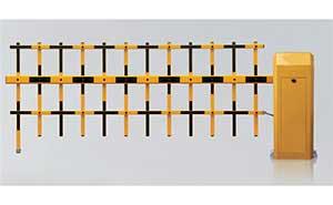 栅栏道闸 - TL-260双层栏栅道闸 - 宁波中出网-城市出入口设备门户