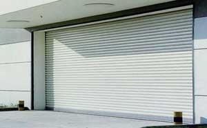 铝合金卷帘门 - 铝合金卷帘门 - 宁波中出网-城市出入口设备门户