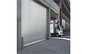 不锈钢卷帘门 - 不锈钢卷帘门 - 镇江中出网-城市出入口设备门户