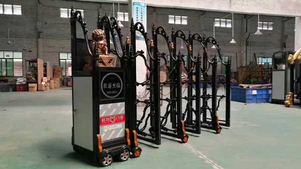 镇江市长丰造纸厂电动门案例 - 镇江中出网-城市出入口设备门户