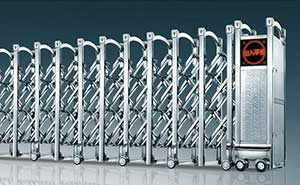 不锈钢伸缩门 - 瑞安-b - 东营中出网-城市出入口设备门户