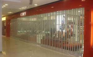 水晶卷帘门 - 水晶卷帘门2 - 东营中出网-城市出入口设备门户