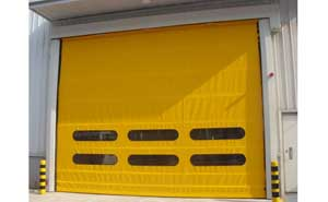 快速堆积门 - 车间门口堆积门 - 金华中出网-城市出入口设备门户