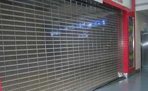 水晶卷帘门 - 水晶卷帘门6 - 金华中出网-城市出入口设备门户
