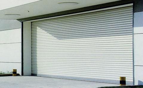 铝合金卷帘门 - 铝合金卷帘门 - 金华中出网-城市出入口设备门户