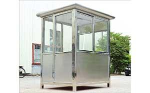 不锈钢岗亭 - 不锈钢岗亭 - 威海中出网-城市出入口设备门户