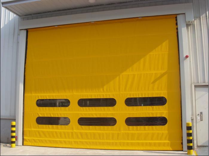 快速堆积门 - 车间门口堆积门 - 威海中出网-城市出入口设备门户