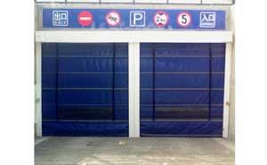 快速堆积门 - 车库专用堆积门 - 威海中出网-城市出入口设备门户
