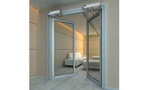 自动平开门 - 自动平开门B007 - 威海中出网-城市出入口设备门户