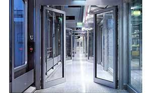 自动平开门 - 自动平开门B008 - 威海中出网-城市出入口设备门户