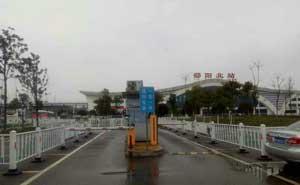 邵阳北站停车场系统案例 - 中出停车场系统网