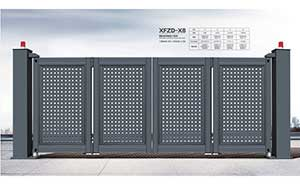 电动折叠门 - 智能悬浮折叠门-XFZD-X8 - 呼和浩特中出网-城市出入口设备门户