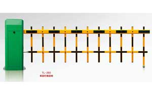 栅栏道闸 - 073-3 TL-260单层栏栅道闸  - 贵阳中出网-城市出入口设备门户