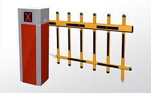 栅栏道闸 - 栅栏挡车器FJC-D516B - 常德中出网-城市出入口设备门户