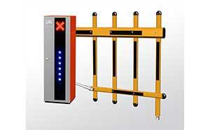 栅栏道闸 - 栅栏挡车器FJC-D616B - 常德中出网-城市出入口设备门户