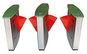 翼闸 - 豪华翼闸(大理石面板) - 衡阳中出网-城市出入口设备门户