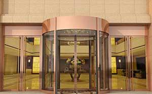 旋转门 - KA270自动旋转门 - 廊坊中出网-城市出入口设备门户