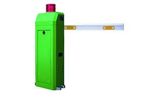 直杆道闸 - TL-260直杆警灯道闸 - 菏泽中出网-城市出入口设备门户