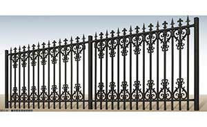 围墙护栏 - 别墅围栏 - 菏泽中出网-城市出入口设备门户