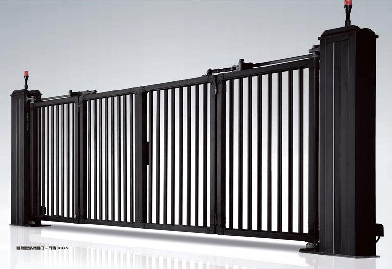 电动折叠门 - 智能悬浮折叠门-开泰DD4A - 吉林中出网-城市出入口设备门户