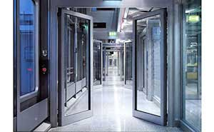 自动平开门 - 自动平开门B008 - 江门中出网-城市出入口设备门户