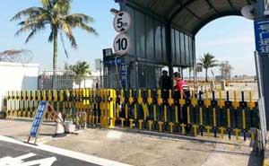 珠海市珠港机场管理有限公司栅栏道闸案例