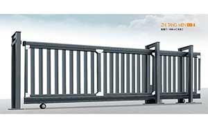 直线平移门 - 直趟门1368-A[灰色] - 郴州中出网-城市出入口设备门户