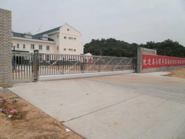 热烈祝贺九江出安智能悬浮门进驻江西省水电工程局老爷庙风电场