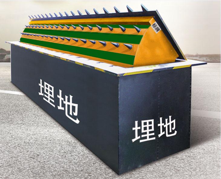 路障机 - 防冲撞液压路障 - 九江中出网-城市出入口设备门户