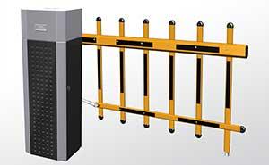 栅栏道闸 - 栅栏挡车器FJC-D516 - 焦作中出网-城市出入口设备门户