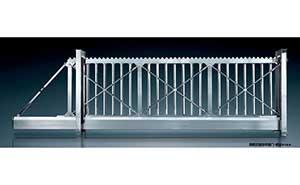 悬浮平移门 - 拼装式悬浮平移门-锐宝818-S - 通辽中出网-城市出入口设备门户