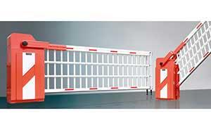 栅栏道闸 - 超级道闸门CJM-910(橙色) - 开封中出网-城市出入口设备门户