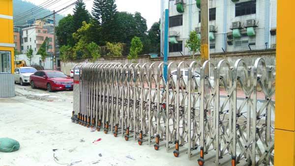 十堰科威机电装备股份有限公司电动伸缩门案例 - 十堰中出网-城市出入口设备门户