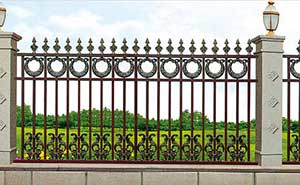 围墙护栏 - 围墙护栏 - 阜阳中出网-城市出入口设备门户