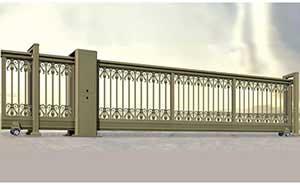 直线平移门 - 智能直线平移门002 - 阳江中出网-城市出入口设备门户