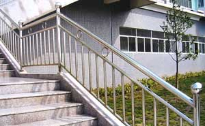 不锈钢护栏 - 不锈钢护栏5 - 四平中出网-城市出入口设备门户