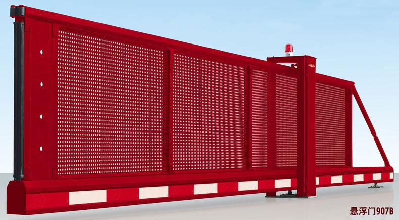悬浮平移门 - 智能悬空门 - 牡丹江中出网-城市出入口设备门户