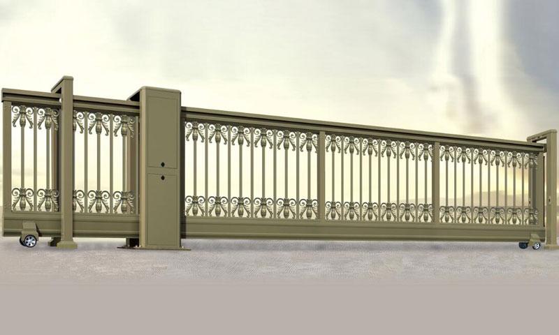 直线平移门 - 智能直线平移门002 - 牡丹江中出网-城市出入口设备门户