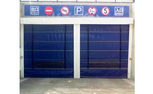 快速堆积门 - 车库专用堆积门 - 牡丹江中出网-城市出入口设备门户