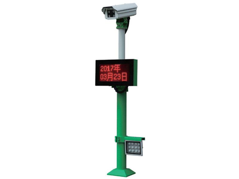 车牌识别系统 - JX-1000车牌识别分体机 - 眉山中出网-城市出入口设备门户